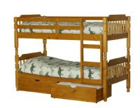 Colonial Wooden Bunk Bed